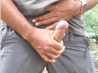 My mouth to suck that cock.  Ooooo, that is a sexy cock with a gorgeous big head....let me wrap my lips around it so I can suck you off.  I'm betting it tastes good.  MILF K