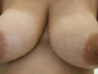 My wife\'s gorgeous tits.