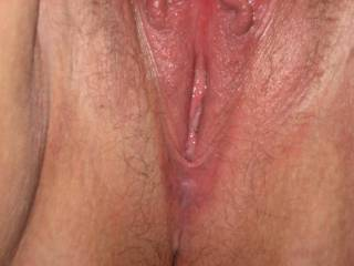 Id like to lick that wet sweet looking pussy of hers.