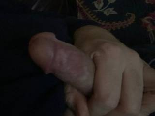 Just jerking my dick and tasting my cum.