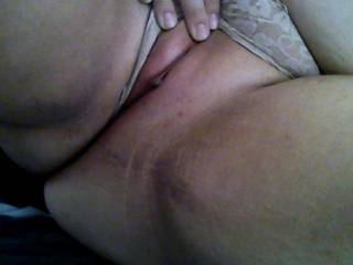 a freshly shaven meaty pussy nothing better   thank you