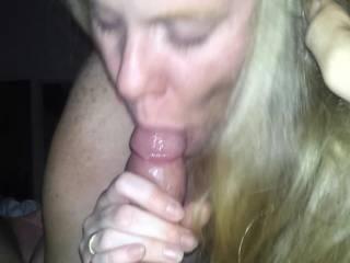 gf sucking my cock