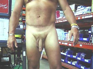 after work when crew leaves i like to get naked