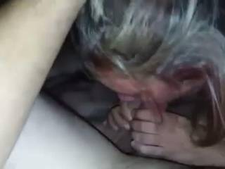 same couple as dvp vid. she loved being a cock slut for us and also loves sperm in her holes. I love eating her pussy with his cock in it.....and yes I lick his cock too (:
