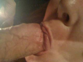 She loves to suck cock, here she is sucking off her friend