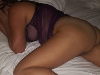 Exhausted after fucking a big cock..