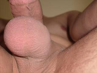 I would love to lick and suck that beautiful sack and those hot balls! ;-P