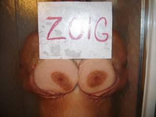 Do you like my wifes big tits ? I do...
