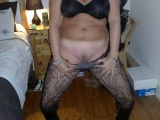 love to fuck you as hard as I can and your man and I can double team you as my wife watches