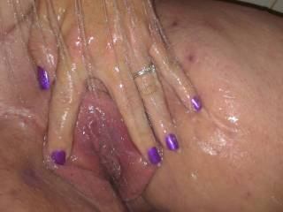 Delicious!!! I would LOVE to lick up every drop of your pussy cum, My favorite thing in life