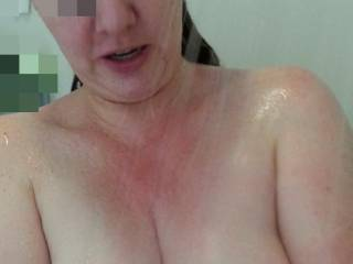 Lovely natural pair of milk filled tits,  wouldn\'t you say?
