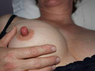 How would you describe my nipple with one word?