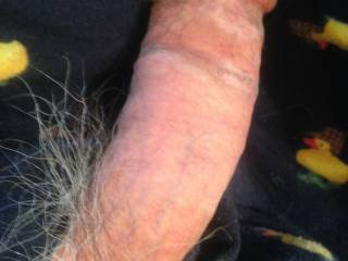 I was talking to a lady friend on the phone, she was out of town, and horny she likes for me stroke and cum for her, so videoed myself stroking, and cumming, and took picture as well, then sent it to her. She was using her Hitachi, and had 4 orgasms.