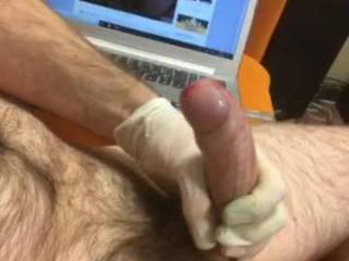 Jays2 masturbates his lovely fat cock looking at my photos and cums so hard for me. Turns me on so much when a guy cums hard for me, a great compliment!