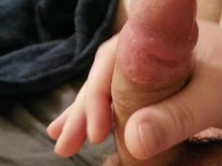 Stroking my cock for one of favorite friends on zoig 😘