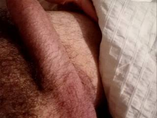 Who wants to play with my hubby\'s fat cock? I am please to share it if I can watch!