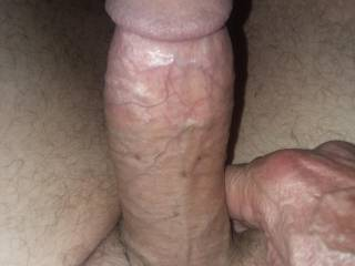 Gitting my cock ready to play