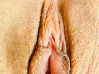 Shaved pussy ready to be licked and filled with dick!