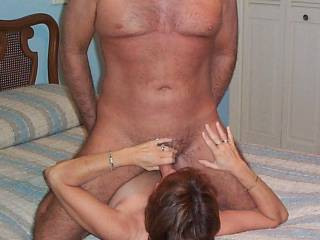 Great shot! I love that position for a bj.