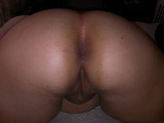 I would love to come from behind and squeeze your tits and ram my thick black cock inside your tight ass and make you cum