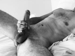 Take that beautiful cock in my hands for starters