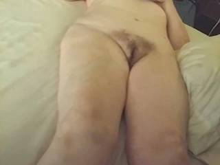 Hairy old granny wife loves getting naked and showing herself off totally nude!