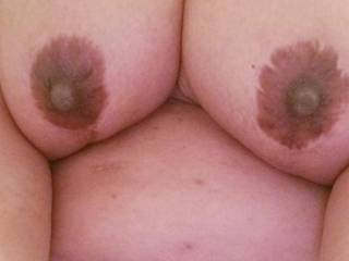 She is looking for another lady to help me suck on her tits 38DD. Anyone interested?