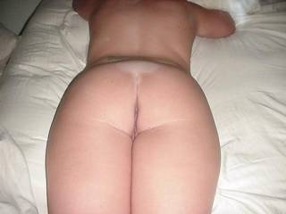 Fantastic!   Now thats my kinda sexy friend!  Luv her Gorgeous sweet little tight ass!  So inviting for some hot erotic fun!  ...luv threesomes