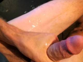 Mmmhhh... Thank u so much. I masturbate myself while watching your cock cumming. Do it again on another video please... I love it...