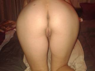 I want to come from behind and squeeze your tits and shove my thick black cock inside your ass