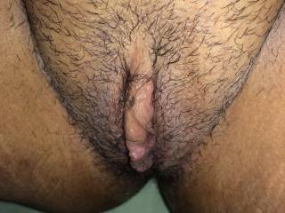Please don't shave it looks so yummy and fun to rub my cock on just like it is. Doug♥♥