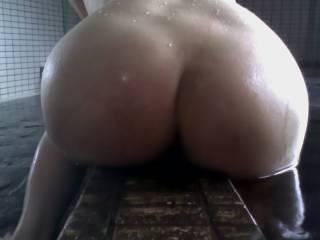 My wifs hairy ass hole photo