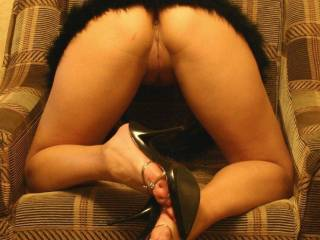 Some ass and high heels))