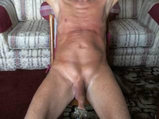 Having some foreskin stretching fun!