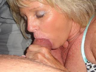 mouthful of cock