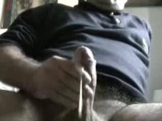 I would not miss a drop. would love to see that cum run down onto your balls so I could clean them