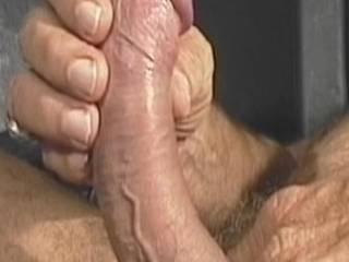 nice curved stiff cock love that big cock head