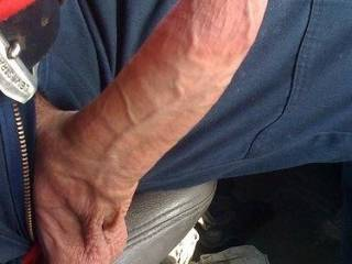 Wow what a fantastic cock wish I could watch my sexy little wife stroke and suck on that and then watch as you push it deep into her pussy and give her lots of pleasure. That would be my dream cum true.
