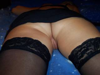 You have a perfect ass!! I like to fuck it deep and hard ;-)