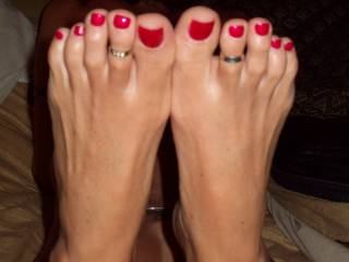 How nice it would be to kiss and lick your sexy toes before slowly, gently, yet insistently sliding my stiff, slippery cock deep into your amazing ass...and fucking your brains out.