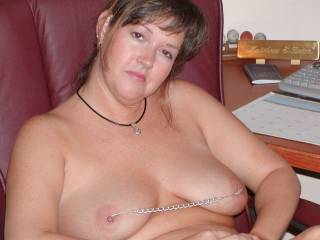 Sexy mature secretary. Can she help you?