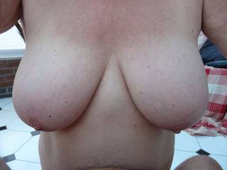 Been asked to show more of my tits. Wish they were as firm as they used to be.