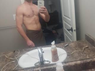 Just me after shower