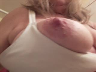 That nipple didn\'t want to stay in