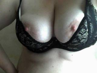 I would love to feel my hard cock between your titties...