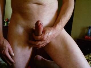 Your huge cock is so desirable... Makes my pussy so horny...
