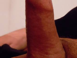 My small dick as big as it gets.