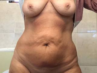 Just a tease before going to the pool. Maggy
