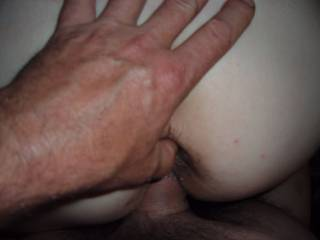 put a finger in her ass and she came so hard and begged for my cock