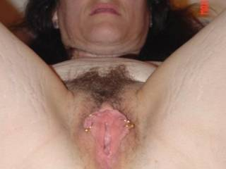 WOW! ... love this pic. I love this babe's huge sexual appetite & I would love to spend a night with her sucking, fucking, & filling her 3 hot holes with hot sticky cum.